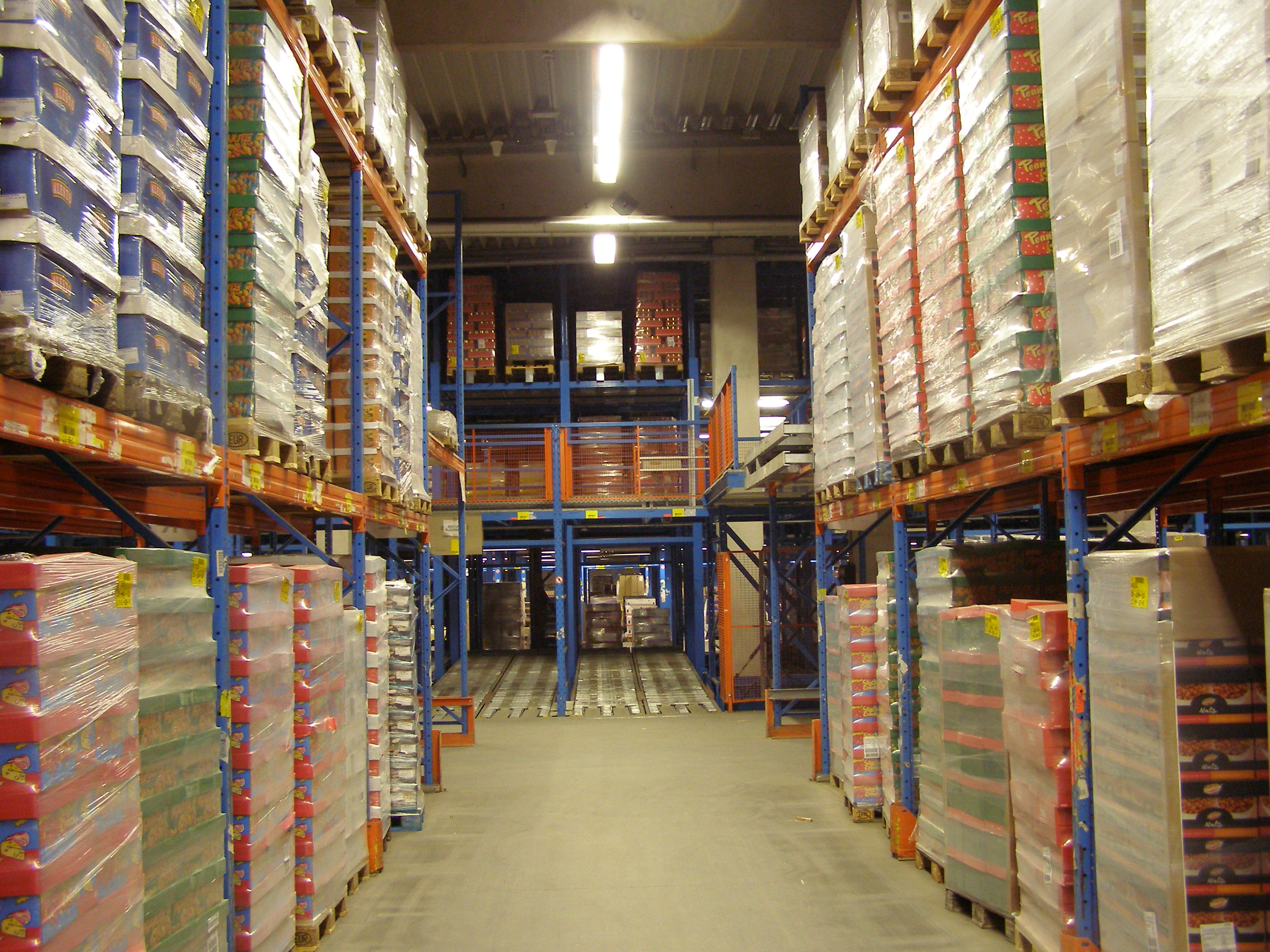 WLAN coverage in cold storage logistics